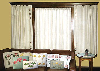 Arts And Crafts And Steampunk Design Craftsman Style Embroidery