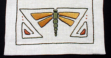 """Dragonfly Table Scarf 11"""" x 42"""""""