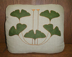 Ginkgo 5-leaf Pillow Kit
