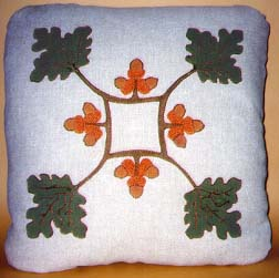 Oak  Acorn Pillow
