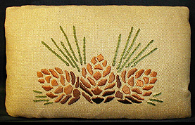 "Pinecone Pillow Kit, 12"" x 18"""