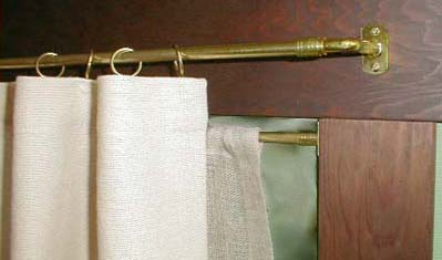 Brass Curtain Hardware