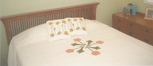 Poppy Bedspread