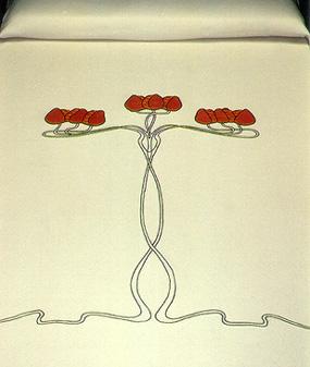 Seed Pod Bedspread
